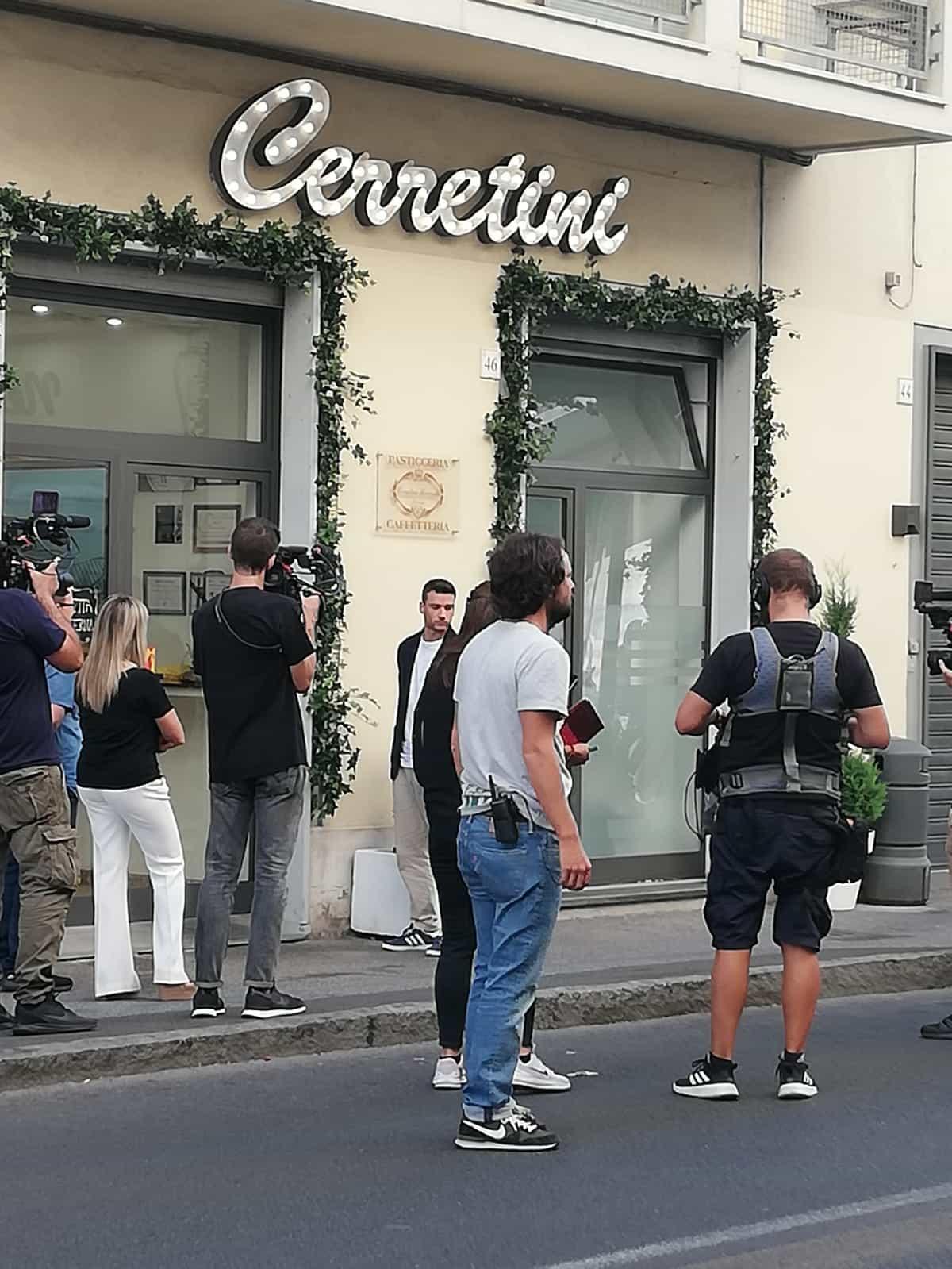 Chef Carrara davanti Cerretini