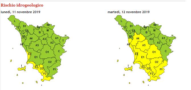 L'allerta meteo nella provincia di Livorno-2