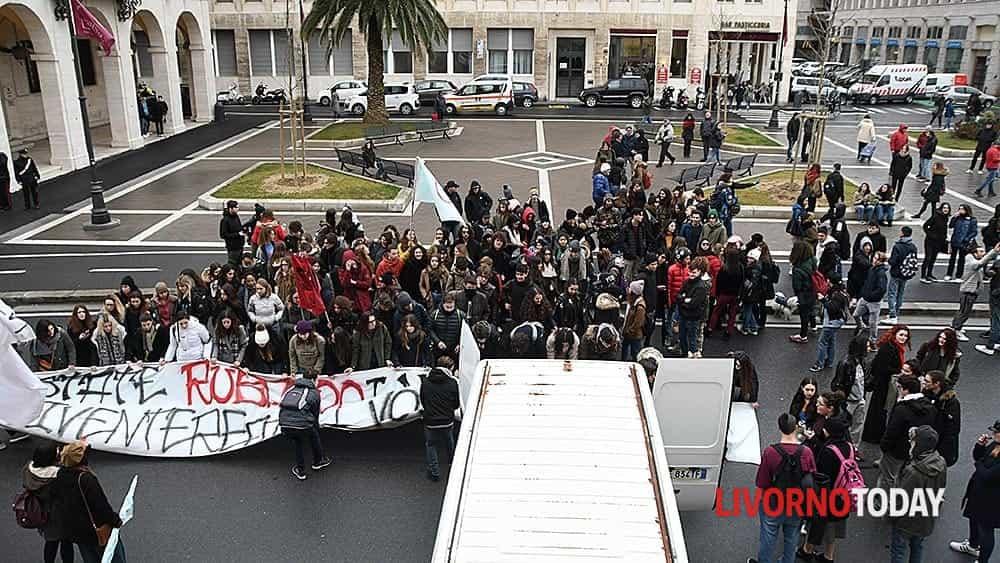 Protesta degli studenti del movimento Kraken (1)-2