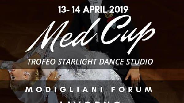 Med Cup, la danza sportiva protagonista al Modigliani Forum