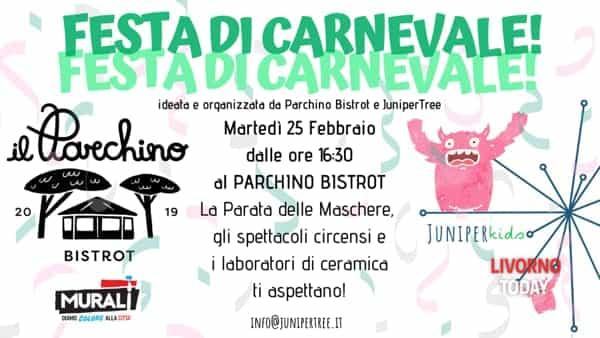 Carnevale 2020, festa in maschera al Parchino Bistrot