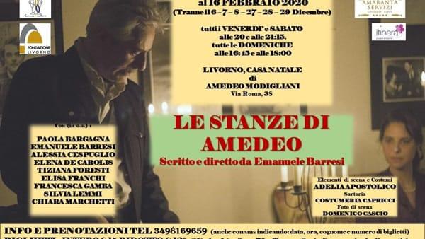 Modigliani, Le stanze di Amedeo alla casa natale in via Roma