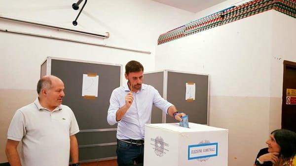 Andrea Romiti al voto