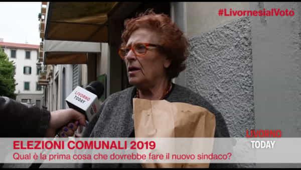 """Elezioni 2019, livornesi al voto: """"Ecco la prima cosa che deve fare il nuovo sindaco"""""""
