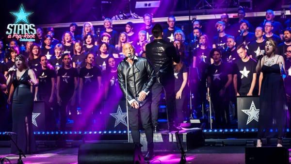 """""""Stars - a Pop Rock Celebration"""", 100 voci sul palco per un concerto imperdibile"""