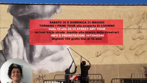 """""""Street art tour"""", alla scoperta delle più belle opere sui muri di Livorno"""