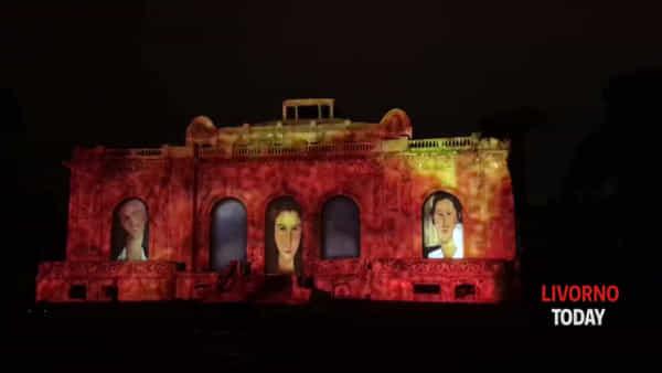Centenario morte Modigliani, la magia dello spettacolo alle Terme del Corallo