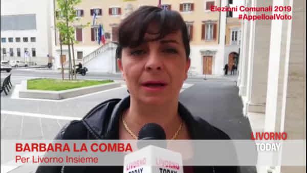 Elezioni 2019, l'appello al voto di Barbara La Comba
