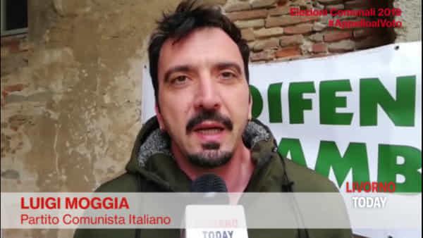 Elezioni 2019, l'appello al voto di Luigi Moggia