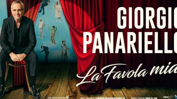 """Teatro, nuova data al Goldoni per lo spettacolo di Panariello """"La favola mia"""""""