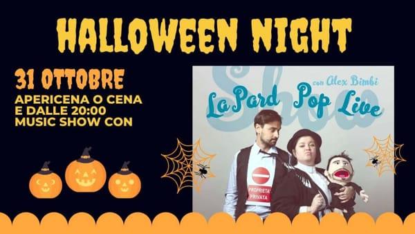 Halloween, buon cibo e musica live per la horror night da Manalù