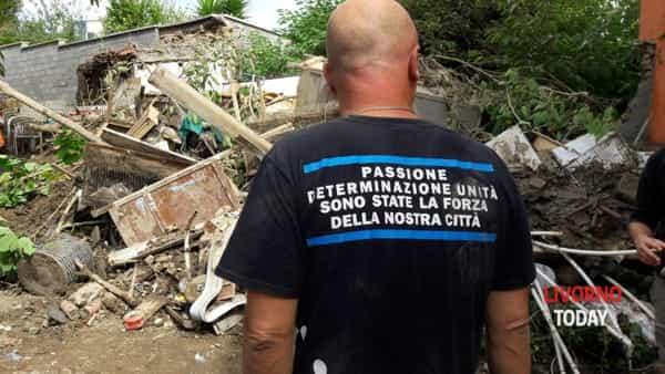 Livorno, alluvione 2017: le foto dei danni