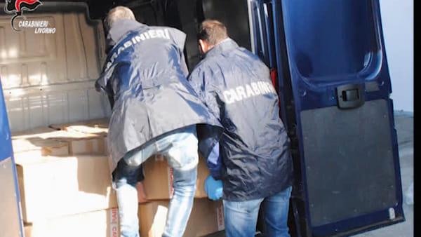 Maxi sequestro di droga nel porto di Livorno, tre tonnellate di cocaina intercettate dai carabinieri. Video