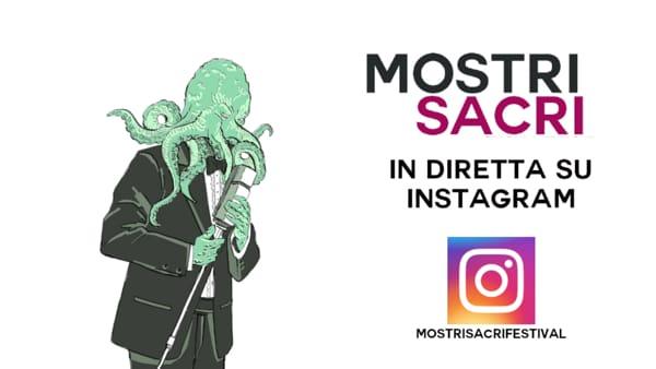 Musica, torna il festival Mostri Sacri in diretta Instagram. Appuntamento venerdì 17 aprile