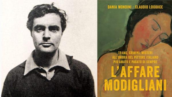 """""""L'affare Modigliani"""", presentazione del libro alla galleria Uovo alla Pop. Presenti gli autori"""