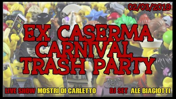 Trash Party di Carnevale alla Ex Caserma Occupata