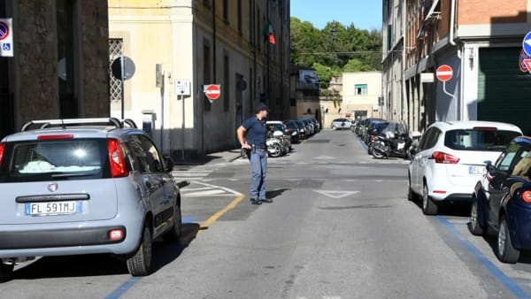 La polizia intervenuta in via del Casino