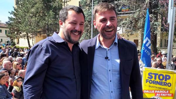 """Romiti: """"Salvini a Livorno? Viene per il ballottaggio, se non vinciamo prima"""""""