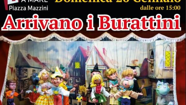 Teatro dei burattini a Porta a Mare, spettacolo per grandi e piccini