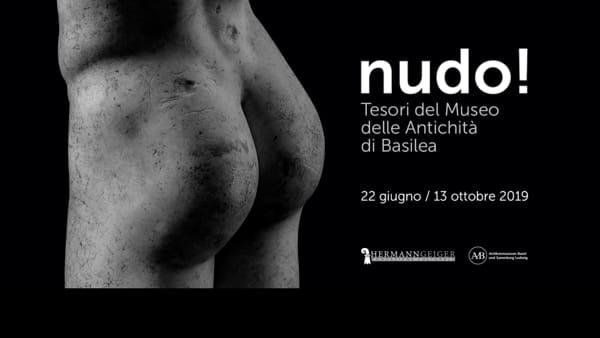 """Fondazione Geiger, prosegue a Cecina la mostra """"Nudo! Tesori del Museo delle Antichità di Basilea"""""""