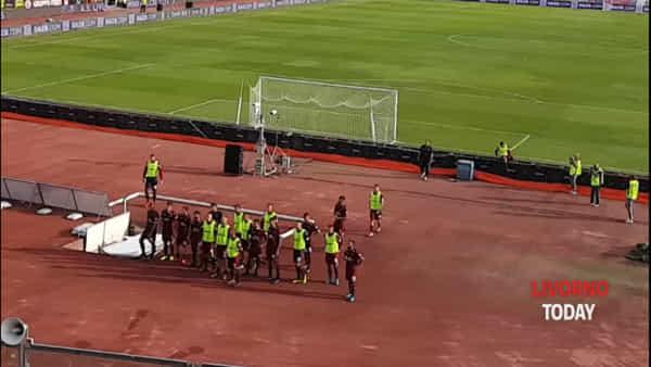 Serie B 2019/2020, Livorno-Chievo 3-4: contestazione dei tifosi allo stadio Armando Picchi. Video