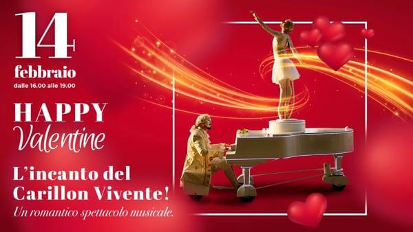 San Valentino 2020, alle Fonti del Corallo arriva il Carillon vivente