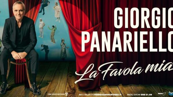 """Teatro, Giorgio Panariello protagonista al Goldoni con il one man show """"La Favola mia"""""""