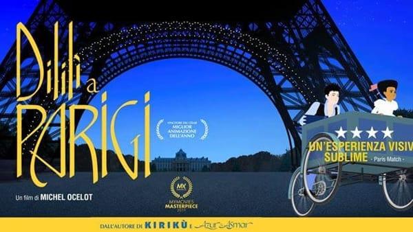 """Sguardi Liberati, al Grattacielo c'è il film d'animazione """"Dilili a Parigi"""""""