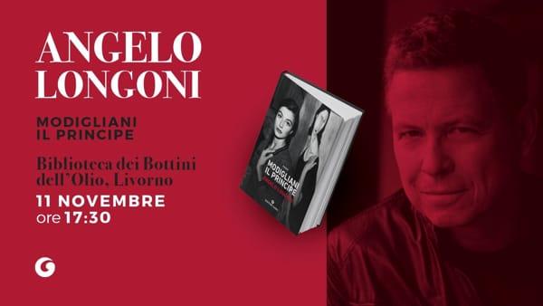 """Libri, Angelo Longoni presenta """"Modigliani, il principe"""" ai Bottini dell'olio"""