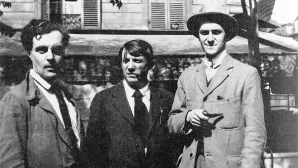 Modigliani, Picasso, André_Salmon-2