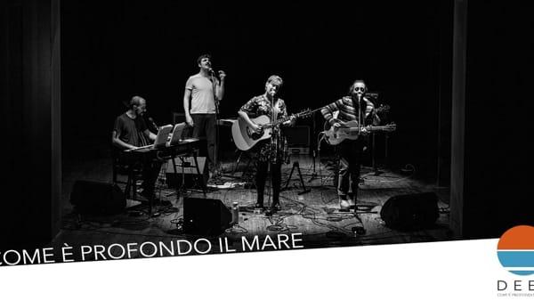 """""""Come è profondo il mare"""", al Deep Festival la musica di Lucio Dalla"""
