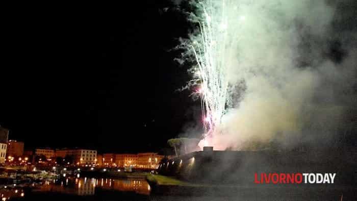 Fuochi d'artificio Effetto Venezia