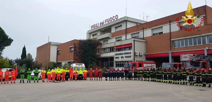 Vigili del Fuoco, a Livorno la commemorazione per i colleghi uccisi a Quargnento nell'esplosione di una cascina